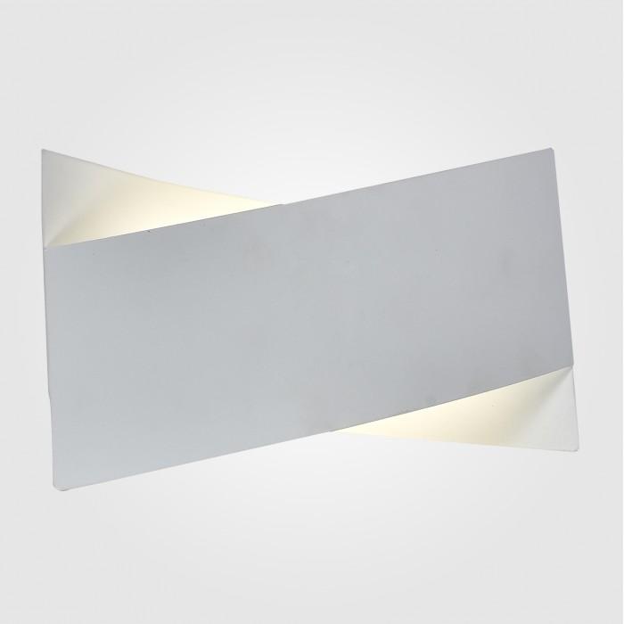 2Настенный светодиодный светильник 40145/1 белый Евросвет
