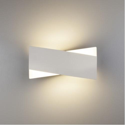40145/1 белый Настенный светодиодный светильник ЕВРОСВЕТ