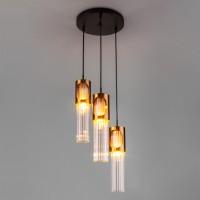 50087/3 черный/бронза Подвесной светильник