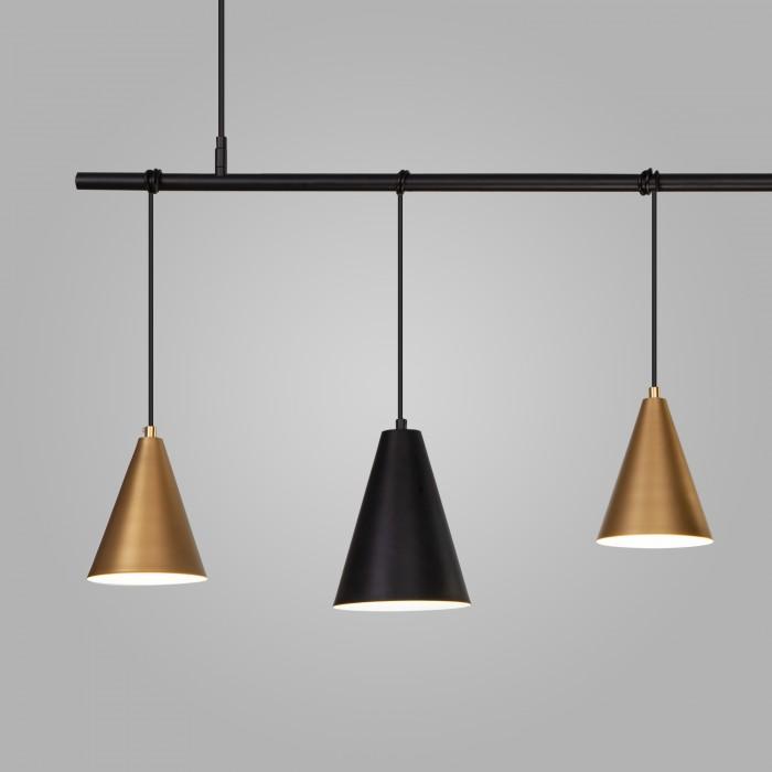 2Подвесной светильник 50088/5 черный/золото Eurosvet
