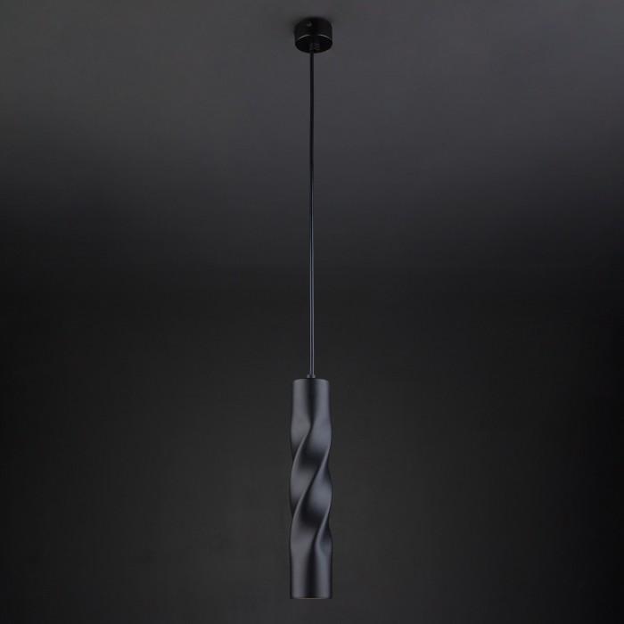 2Подвесной одиночный светильник 50136/1 черный Евросвет