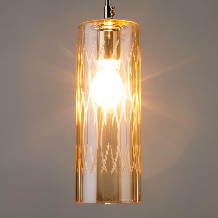 1Одиночный подвесной светильник 50149/1 Евросвет