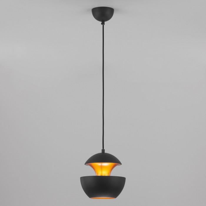2Подвесной светильник 50170/1 черный Eurosvet