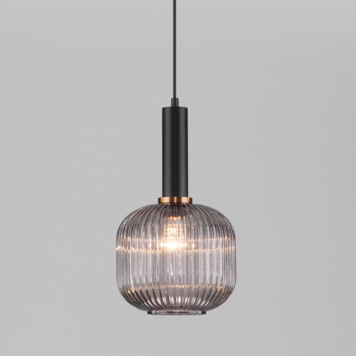 2Подвесной светильник 50182/1 дымчатый Eurosvet