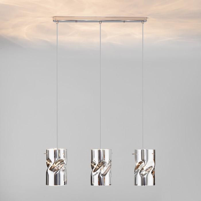 2Подвесной светильник 50184/3 хром Евросвет