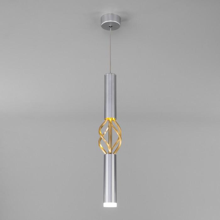 1Подвесной светильник 50191/1 LED матовое серебро/матовое золото Eurosvet