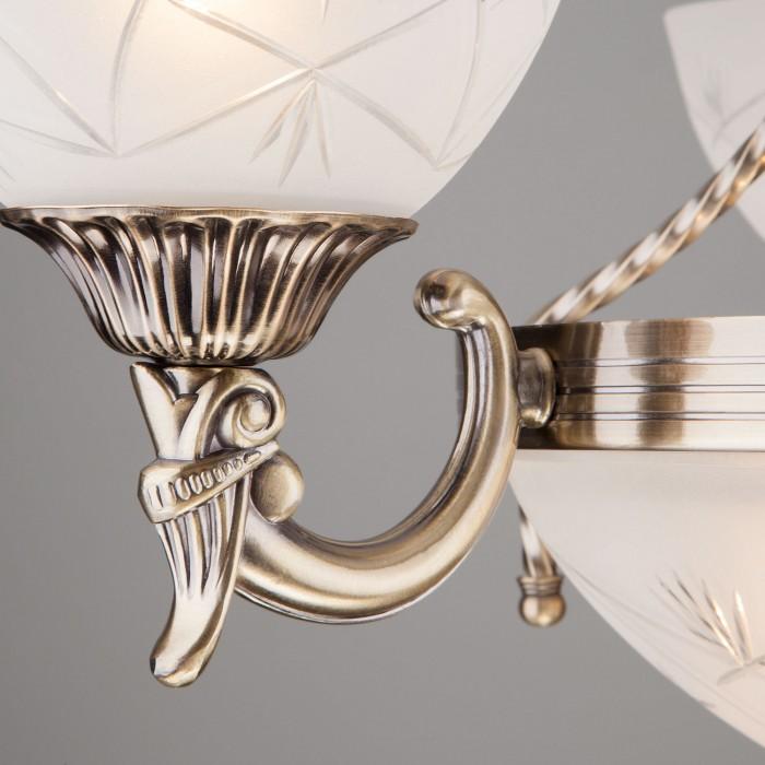 2Бра с плафоном 60006/1 античная бронза Евросвет