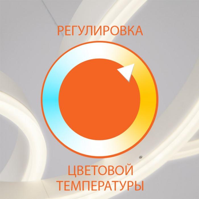 2Светодиодная настольная лампа с хрусталем Eurosvet 80412/1