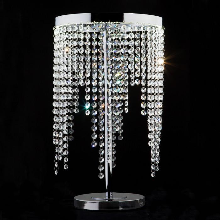 1Светодиодная настольная лампа с хрусталем Eurosvet 80412/1