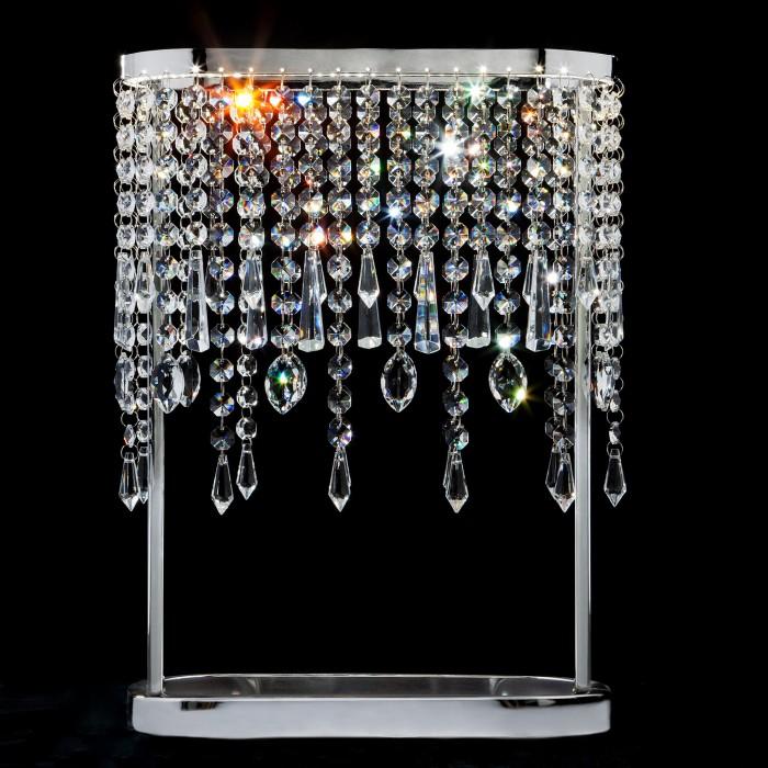 1Светодиодная настольная лампа с хрусталем Eurosvet 80413/1