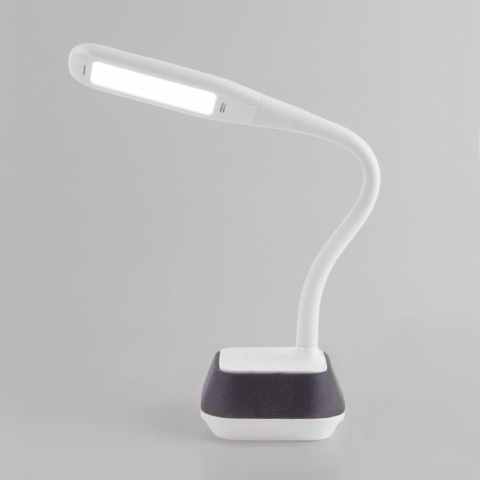 1Светодиодная настольная лампа с динамиком Eurosvet 80417/1 белый