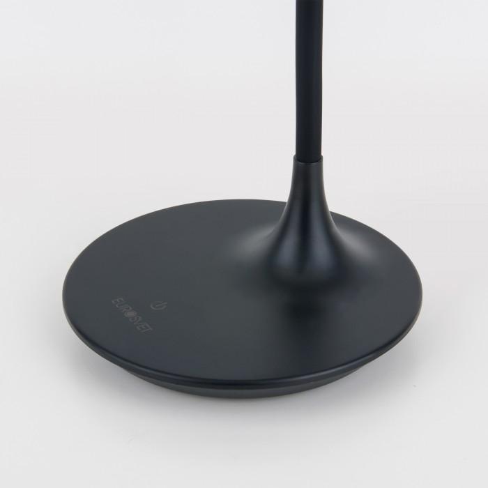 2Светодиодная настольная лампа с сенсорным управлением 80422 черная