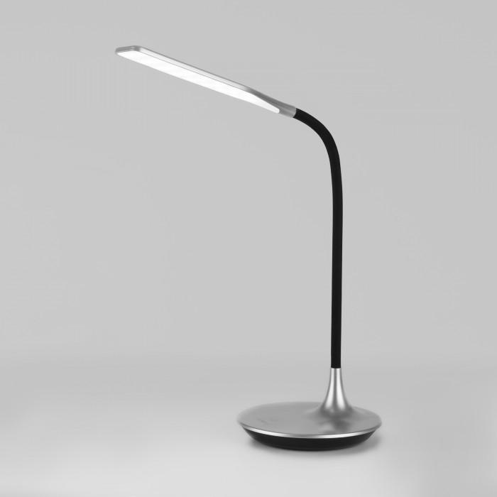 1Светодиодная настольная лампа сенсорная Eurosvet 80422 серебристый