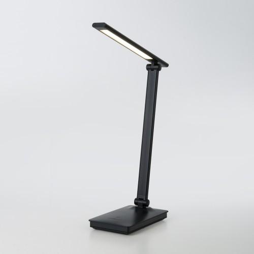80423/1 черный EUROSVET Светодиодная настольная лампа с сенсорным управлением