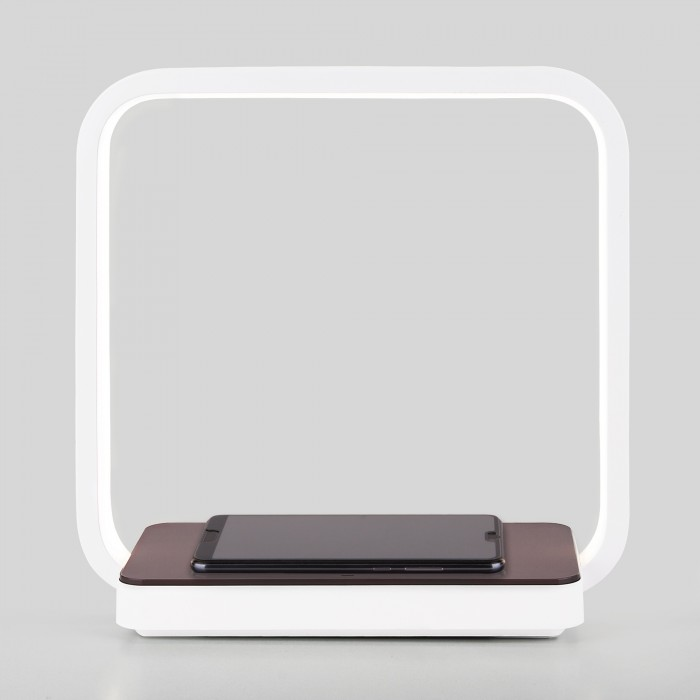 2Светодиодная настольная лампа беспроводная QI Eurosvet 80502/1