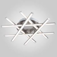 90021/6 сатин-никель Люстра Евросвет