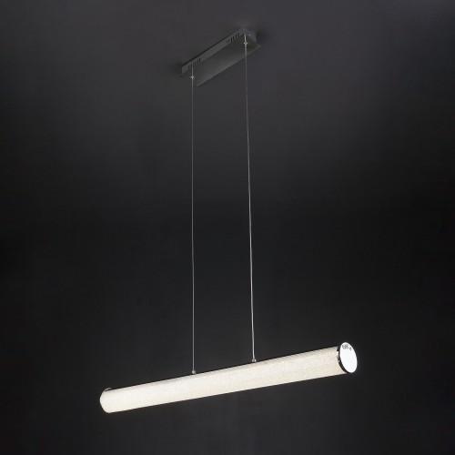 90061/1 Светодиодный подвесной светильник с хрустальной крошкой