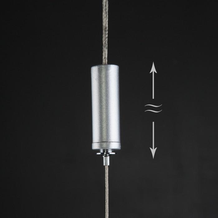 2Подвесной светильник Eurosvet 90072/1 серебряный