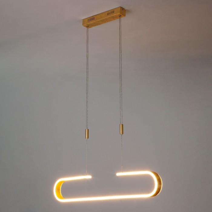 1Подвесной светильник Eurosvet 90072/1 золото