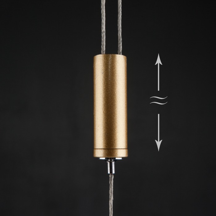 2Подвесной светильник Eurosvet 90072/1 золото