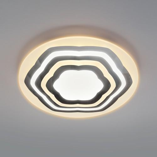 90117/4 хром Потолочный светодиодный светильник с пультом управления EUROSVET