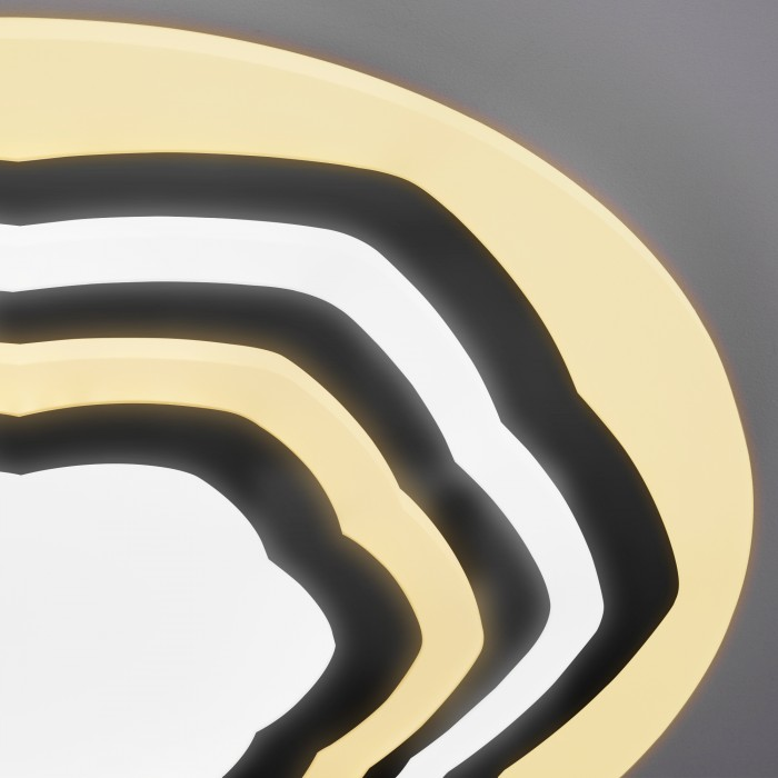 2Светодиодная люстра с пультом управления Eurosvet 90117/4 хром