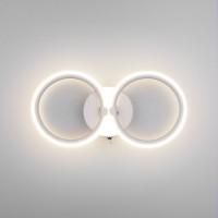 90146/2 белый EUROSVET Настенный светодиодный светильник с выключателем