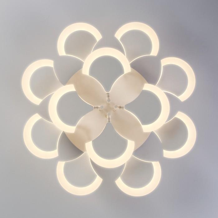 2Светодиодная люстра с пультом управления Eurosvet 90159/12 белый