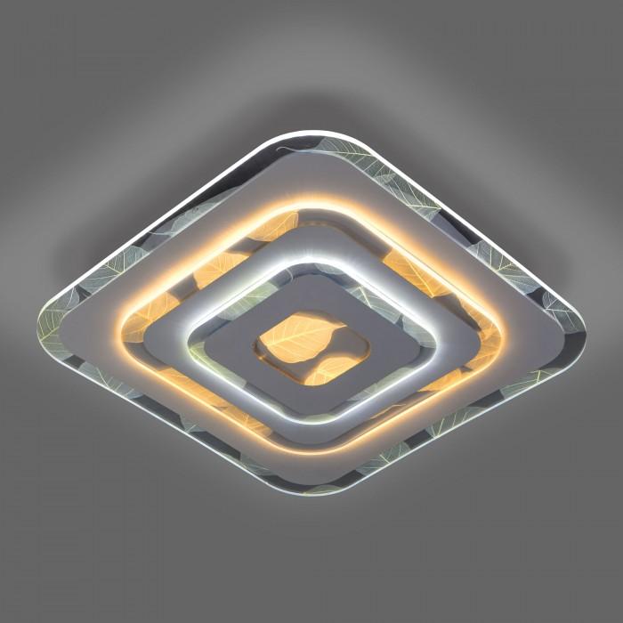 2Светодиодная люстра с пультом управления Eurosvet 90222/1 белый