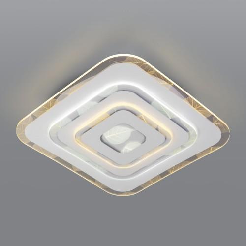 90222/1 белый Потолочный светодиодный светильник с пультом управления Евросвет