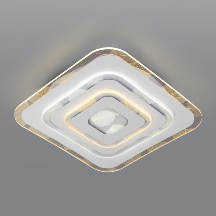 1Светодиодная люстра с пультом управления Eurosvet 90222/1 белый