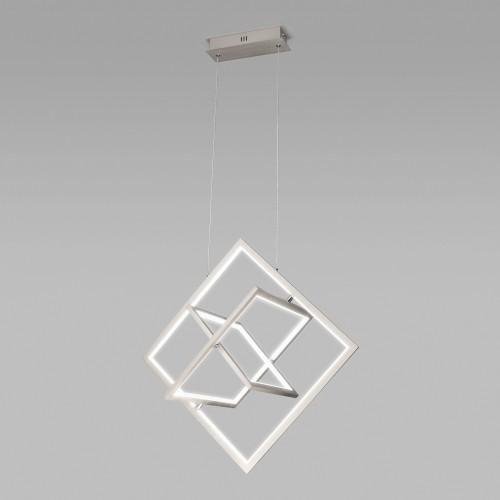 90224/3 матовое серебро Подвесной светодиодный светильник EUROSVET