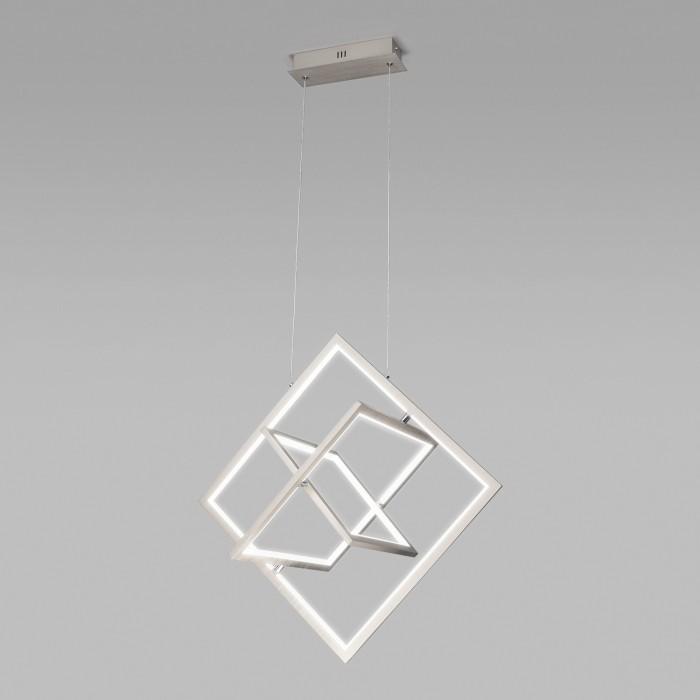 1Подвесной светильник Eurosvet 90224/3 матовое серебро