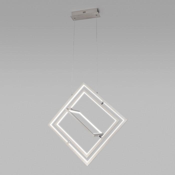2Подвесной светильник Eurosvet 90224/3 матовое серебро