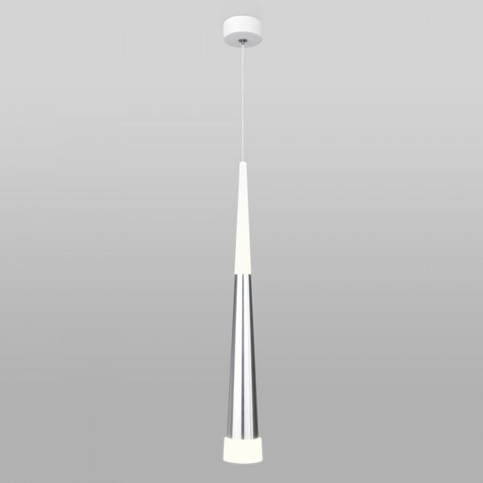 1Светодиодный подвесной светильник DLR038 7+1W 4200K хром