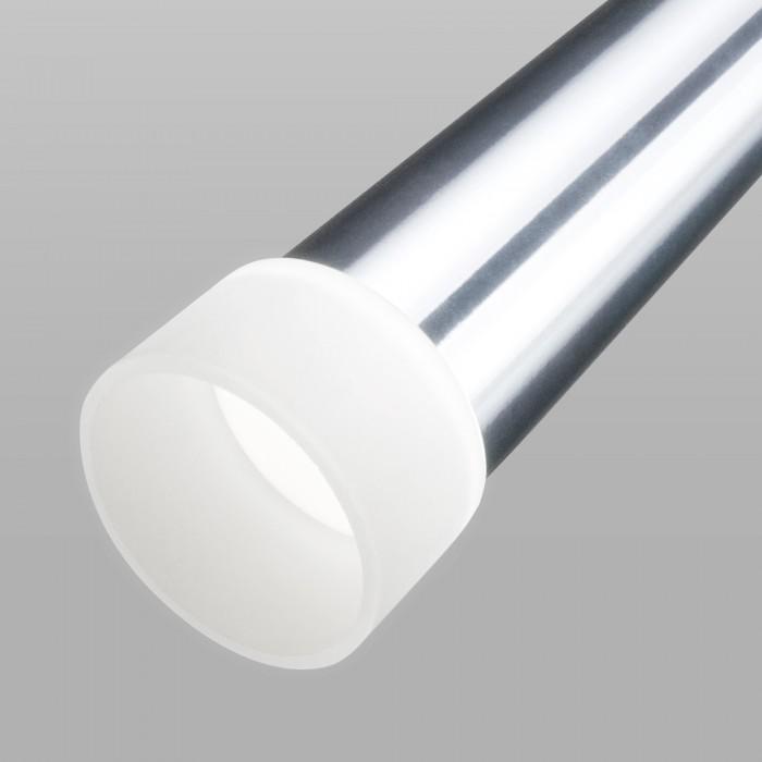 2Светодиодный подвесной светильник DLR038 7+1W 4200K хром