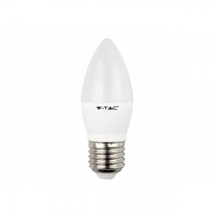2Светодиодная лампа V-TAC 5,5 ВТ, 470LM, СВЕЧА, Е27, 4000К