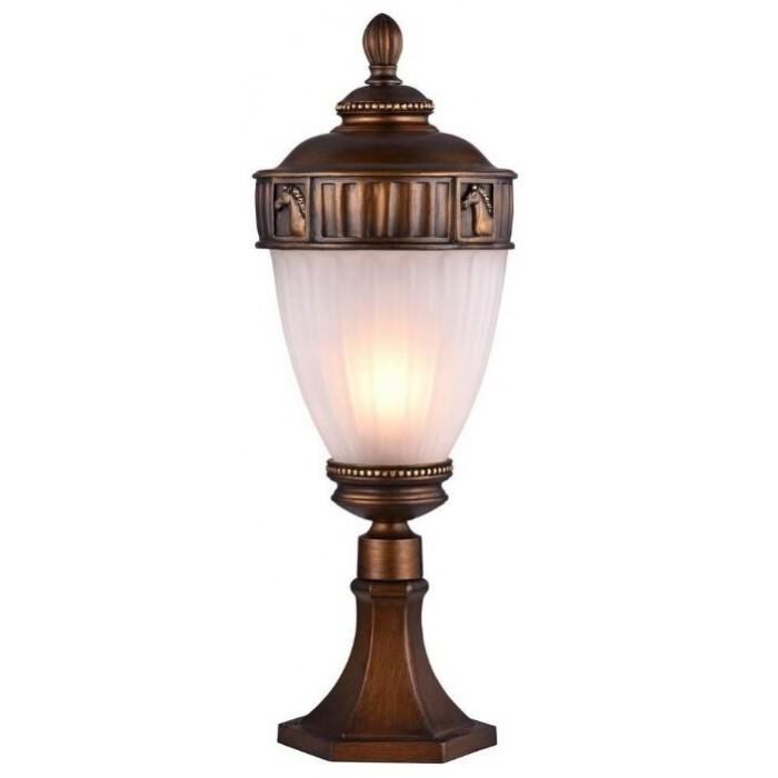 1Наземный уличный светильник со стеклянным плафоном 1335-1T Favourite