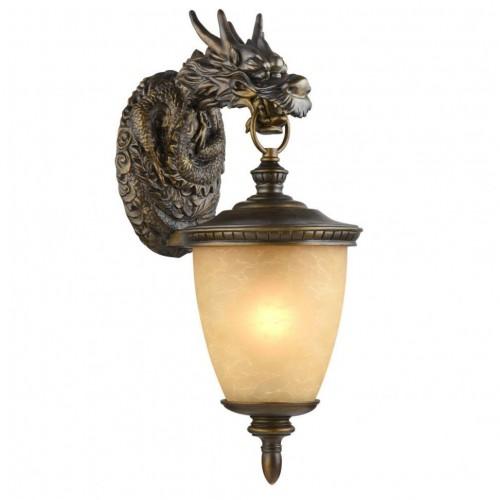 1716-1W Dragon Уличный настенный светильник Favourite