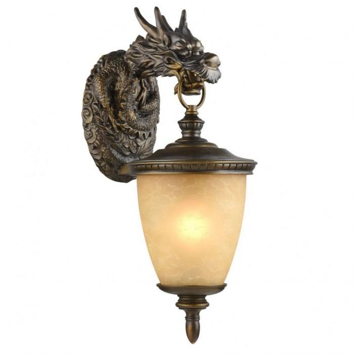 1Уличный настенный светильник 1716-1W Favourite Dragon