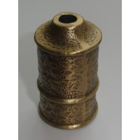 Стаканчик под патрон E14, отверстие d-8,5 мм, цвет античная бронза