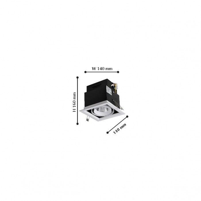 21985-1C Flashled FAVOURITE Карданный светильник