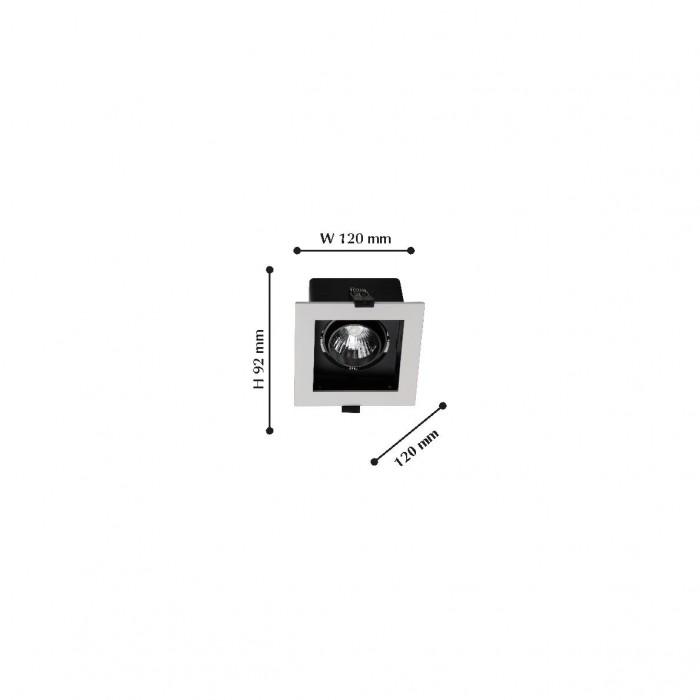 21988-1C Flashled FAVOURITE Карданный светильник
