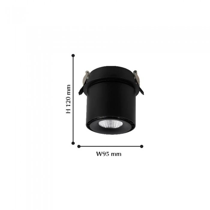 21989-1U Leden FAVOURITE Встраиваемый светильник