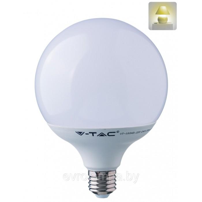 1Светодиодная лампа V-TAC 10 ВТ, 810LM, G95, Е27, 3000К