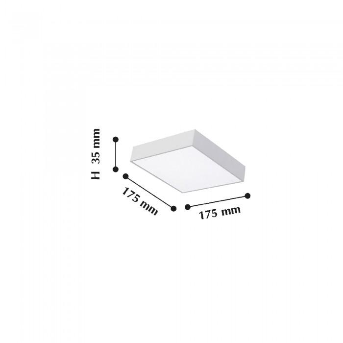 2Потолочный светодиодный светильник 2066-24C Flashled FAVOURITE