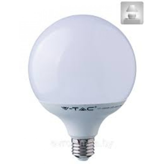 1Светодиодная лампа V-TAC 10 ВТ, 810LM, G95, Е27, 4000К