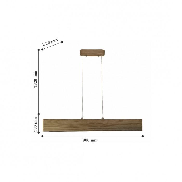 2Подвесной светильник 2109-15P Officium FAVOURITE