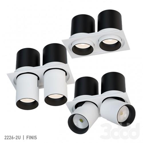2226-2U Finis FAVOURITE Встраиваемый светильник