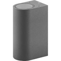 11884 Feron Светильник садово-парковый DH015 серый